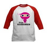 Girl-Ninja Baseball Jersey