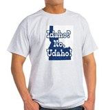 Idaho No Udaho Ash Grey T-Shirt