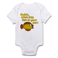 STICK THIS FISH IN YOUR... Infant Bodysuit