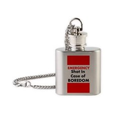 EMERGENCY Flask Necklace
