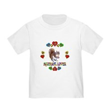 Squirrel Lover T