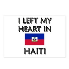 I Left My Heart In Haiti Postcards (Package of 8)