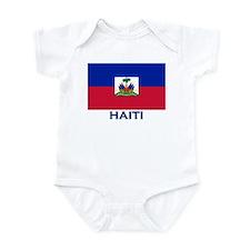 Haiti Flag Gear Infant Bodysuit