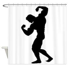 BODYBUILDER Shower Curtain
