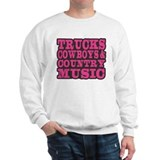 Trucks, Cowboys And Country Music Sweater