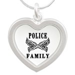 Police Family Necklace and Charms