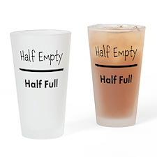 Half Empty/Half Full (Drinking Glass)