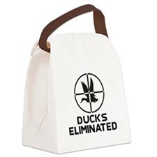 DucksEliminatedDesign.png Canvas Lunch Bag