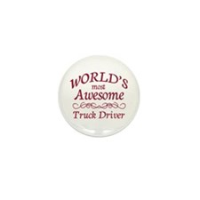 Awesome Truck Driver Mini Button (100 pack)