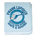 Frank Lapidus baby blanket