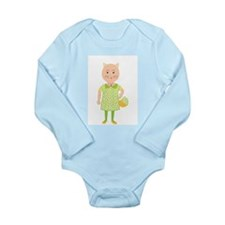 Cutie Pie Long Sleeve baby body suit