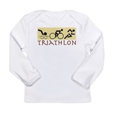 Triathlon Long Sleeve Infant T-Shirt