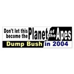 Planet of the Apes Bumper Sticker