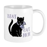 Best Cat Mom Small Mugs