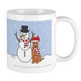 Pharaoh Hound Winter Mugs