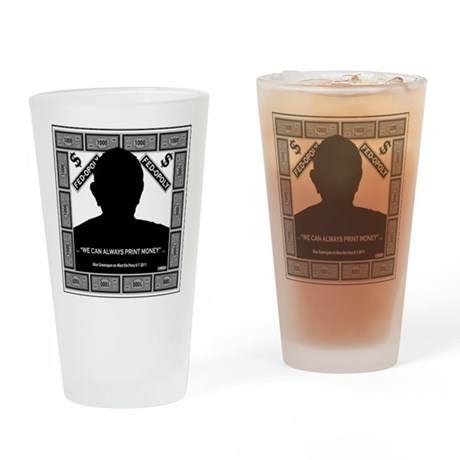 Fed-Opoly Drinking Glass