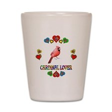 Cardinal Lover Shot Glass