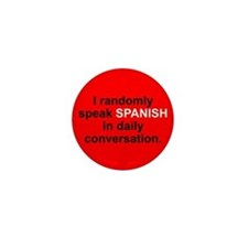 Cute Spanish Mini Button