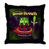 KING PLUTO | DWARF PLANETS Throw Pillow