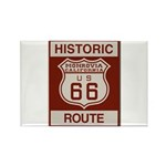 Monrovia Route 66 Rectangle Magnet (10 pack)