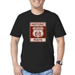 Monrovia Route 66 Men's Fitted T-Shirt (dark)