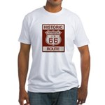 Monrovia Route 66 Fitted T-Shirt