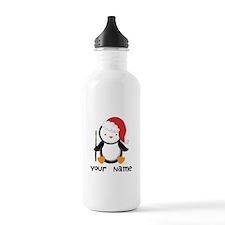 Personalized Flute Penguin Water Bottle