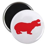 Red Poker Chip Round Compact Mirror