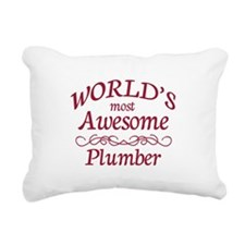 Awesome Plumber Rectangular Canvas Pillow