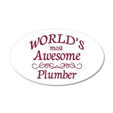 Awesome Plumber Wall Decal