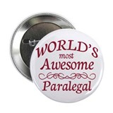 "Awesome Paralegal 2.25"" Button (100 pack)"