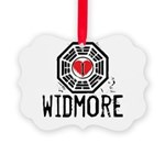 I Heart Widmore - LOST Picture Ornament