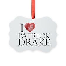 I Heart Patrick Drake Picture Ornament