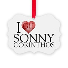I Heart Sonny Corinthos Picture Ornament