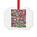 Parade of Nations Picture Ornament