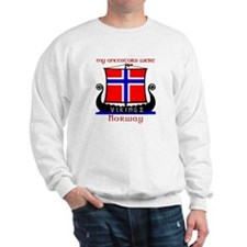 Norwegian Viking Ancestors Sweatshirt