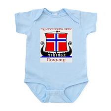 Norwegian Viking Ancestors InfantCreeper