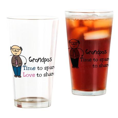 Grandpas Drinking Glass