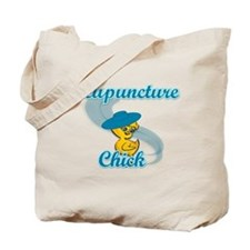 Acupuncture Chick #3 Tote Bag