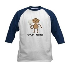 Personalized Volleyball Monkey Tee