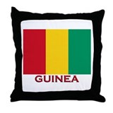 Guinea Flag Merchandise Throw Pillow