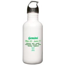 Gemini Description Water Bottle