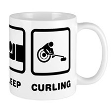 Wheelchair Curling Mug