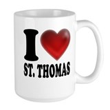 I Heart St. Thomas Coffee Mug