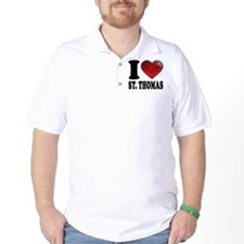 I Heart St. Thomas T-Shirt