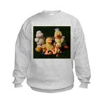 Bunch of Ducks Kids Sweatshirt