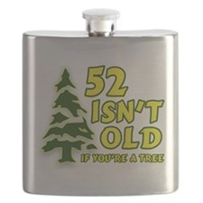 52 Isn't Old If You're A Tree Flask