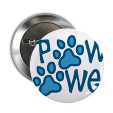 "Paw Power 2.25"" Button"