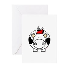 Holiday Cow Greeting Cards (Pk of 10)