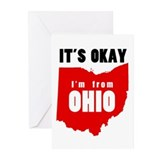 Funny Ohio Greeting Cards (Pk of 10)